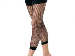 CAPRI BASIC SEAMED FISHNET TIGHTS
