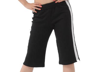 DRAWSTRING CAPRI DANCE PANTS
