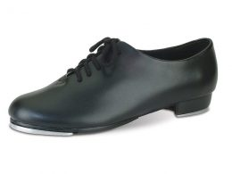 DANSHUZ BLACK OXFORD LACE UP TAP SHOES