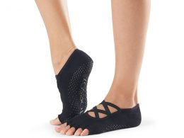 HALF TOE ELLE GRIP SOCK BY TOESOX