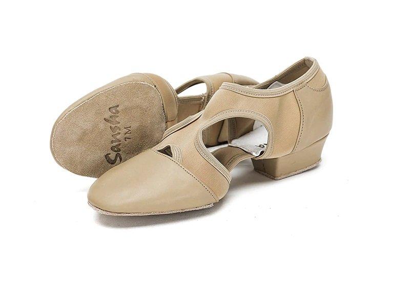Sansha Slip On Leather Teaching Sandal